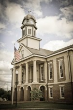 The Chatham County Courthouse. By Nina Lloyd.