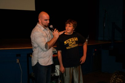 Joe Pelton Ohio State U talks for Character Days CMS 2014