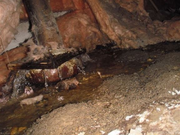 Chatham Home Inspectors  Common plumbing problems uncovered during home inspections