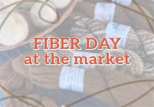 Fiber Day at the Market
