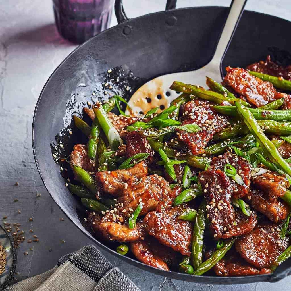 Pork and Green Bean Stir Fry