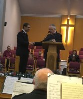 Ryan Cripps Commisioned as Divisional Youth Band Leader