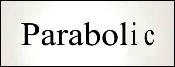 Learn English word Parabolic