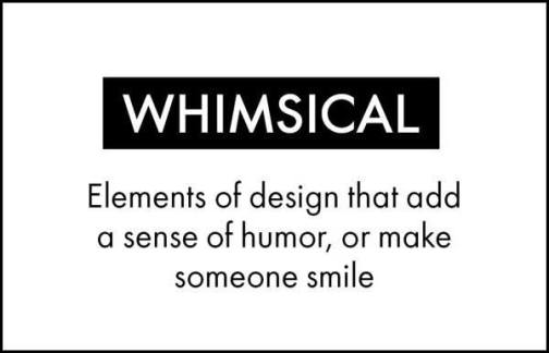 Learn English word whimsical terms