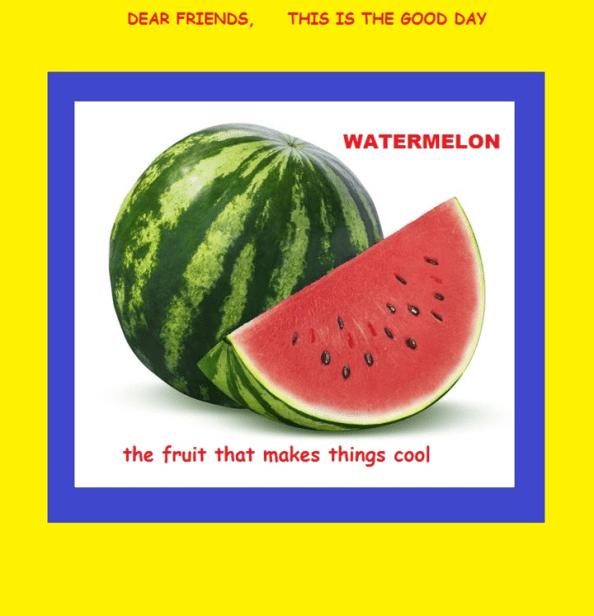 119 Watermelon Sayings
