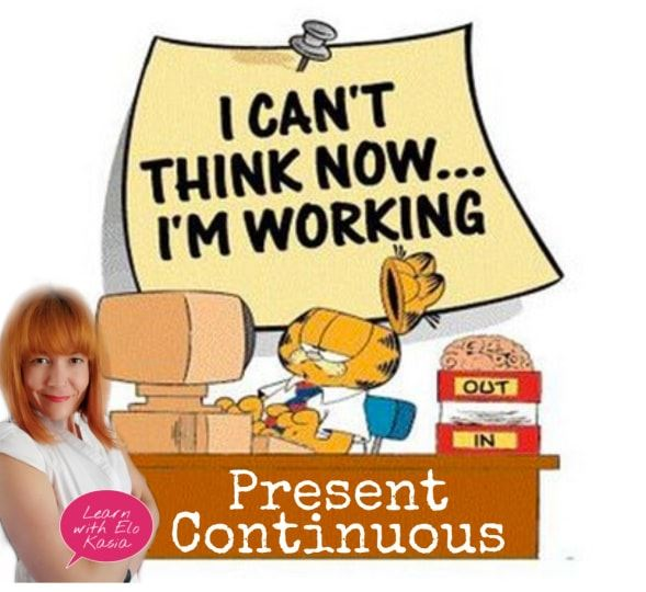 When do we use present continuous? Present continuous tense explained