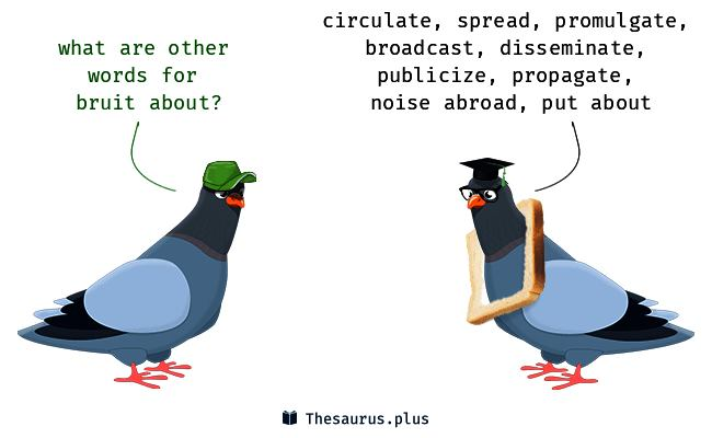 Wordipedia Learn BRUIT Meaning Definition Chatsifieds