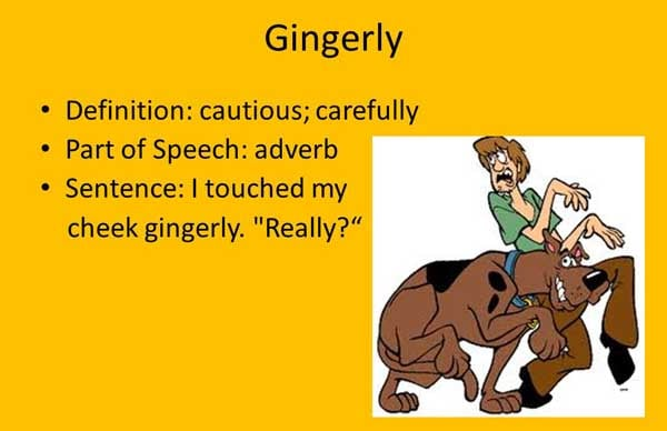 Gingerly Meaning Gingerly Etymology Gingerly Synonyms