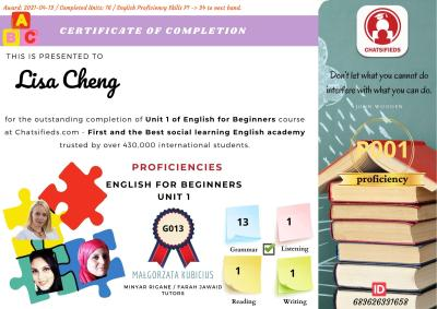 English For Begineers course chatsifieds learn english faster
