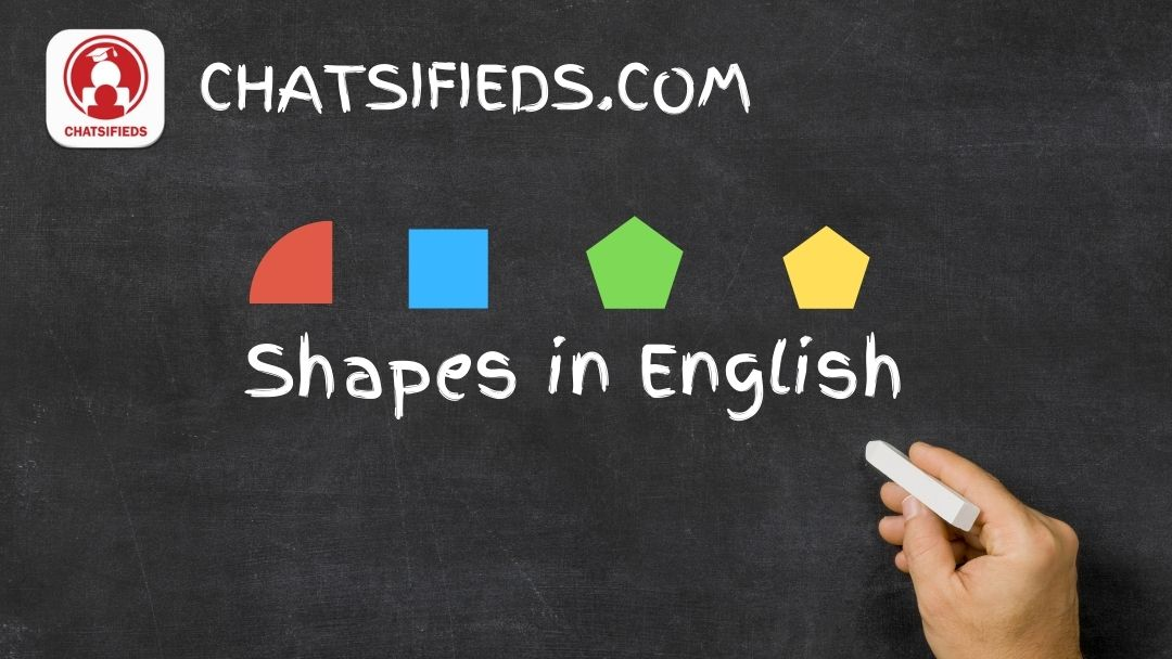 Shapes in English Test