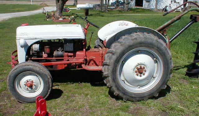 8n Tractor Wiring Diagram