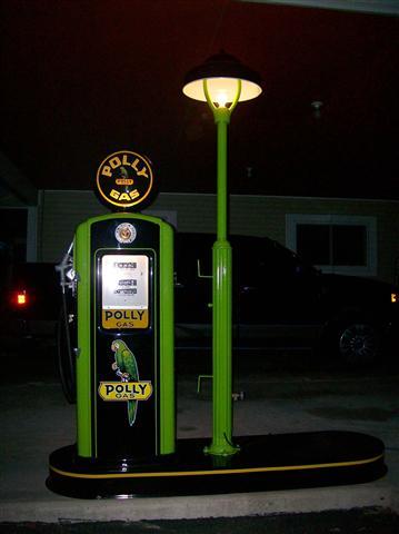 Restored Bennet Gas Pump for sale