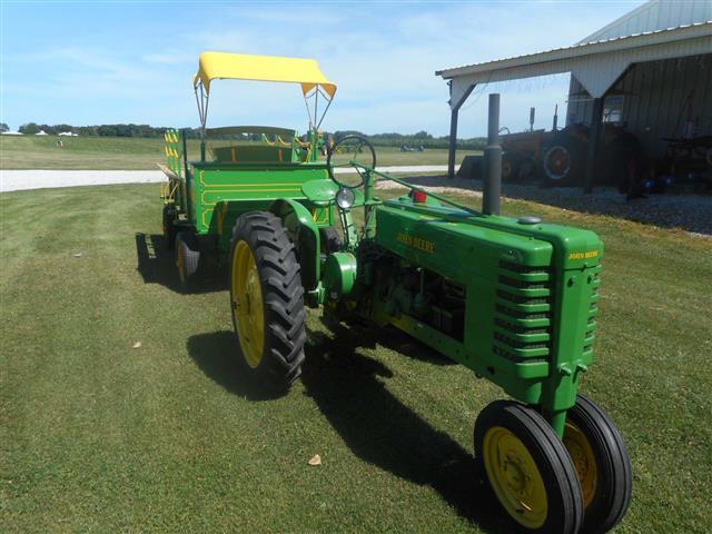John Deere Jd Model H Tractor For Sale