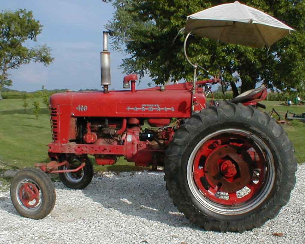 hight resolution of 1956 farmall 400 serial number 37487 wide front power steering 12 volt