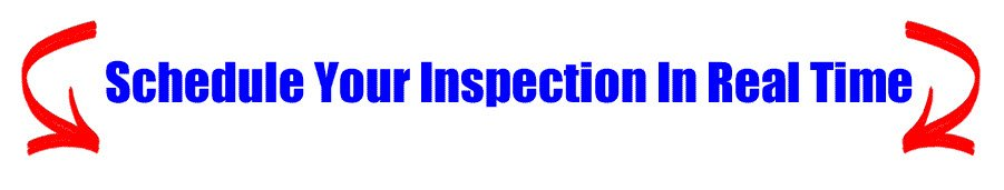 schedule your inspection in real time button
