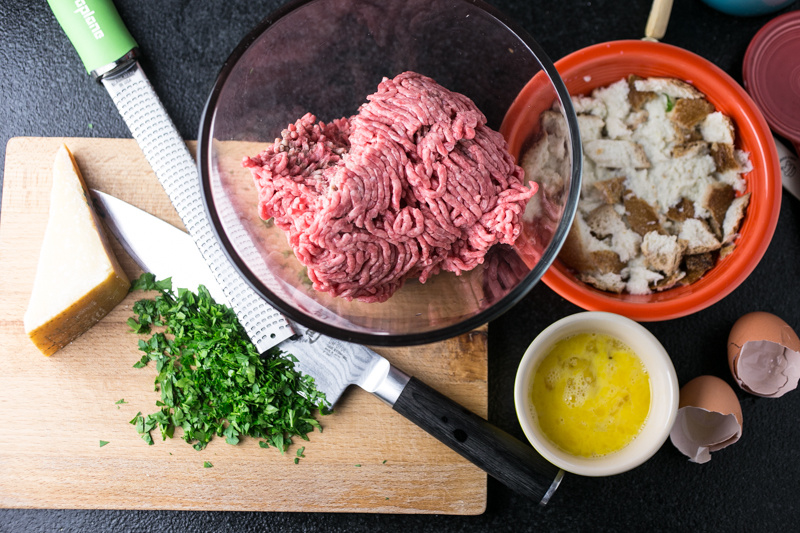 Everyone has their own idea of what perfect meatloaf is, but this meatloaf, with Parmesan, parsley, and plenty of sweet ketchup-based sauce, might make your list! | recipe from Chattavore.com