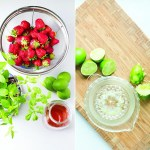 Frozen Treat Tuesday: Strawberry-Lime Popsicles with Herbs (Mint & Basil)