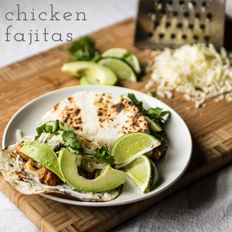 These chicken fajitas take a few steps, but they're all easy steps and completely worth it to make the best chicken fajitas I've ever had! | recipe from Chattavore.com