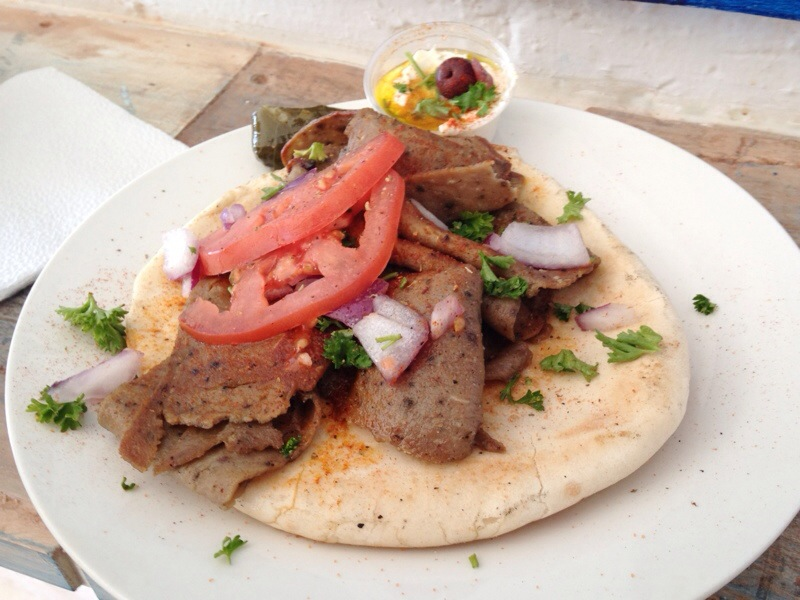 OPA Greek restaurant, located in Coolidge Park in Chattanooga, serves amazing, homemade Greek food in a tiny, cozy space. | restaurant review from Chattavore.com