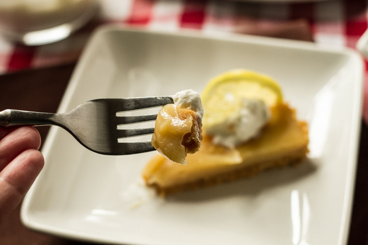 sweet tea lemonade tart | chattavore