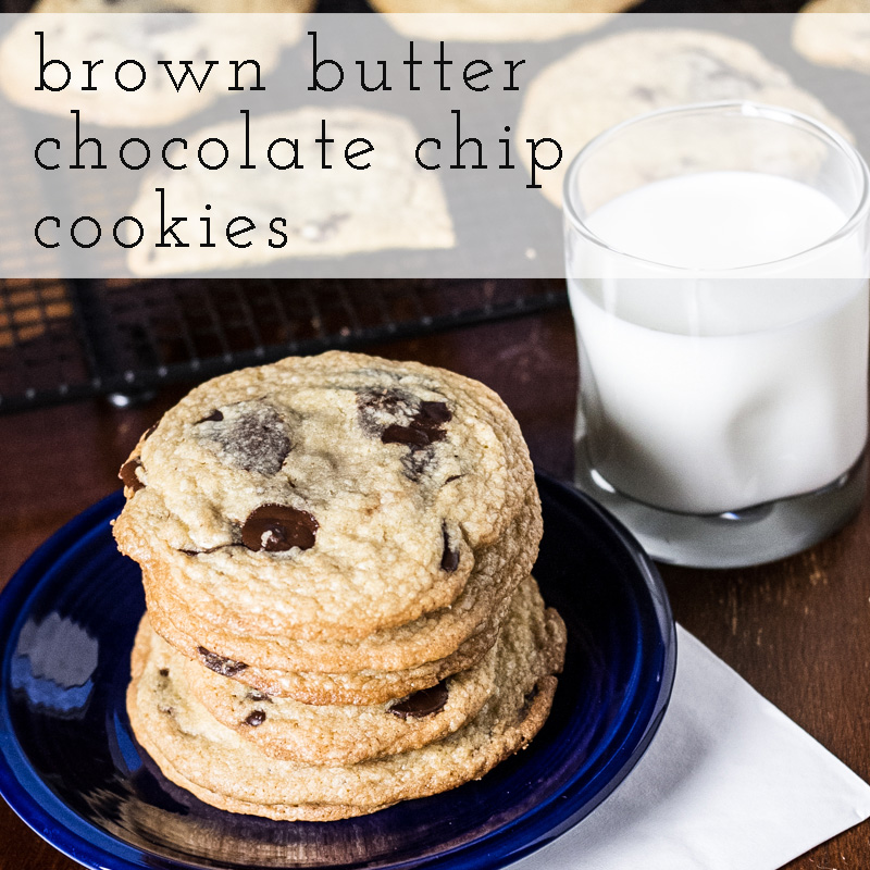 brown butter chocolate chip cookies | chattavore