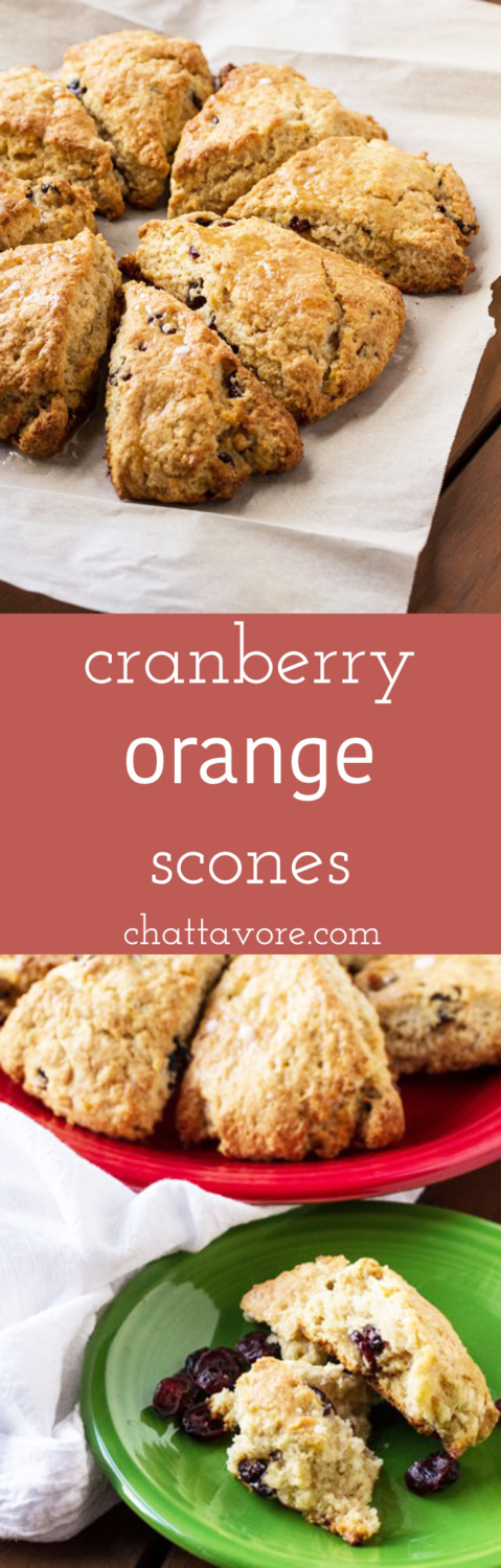 Cranberry Orange Scones - Chattavore