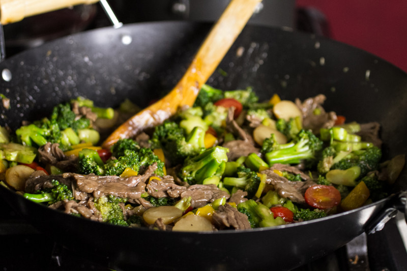 Beef with broccoli is a recipe that my grandmother used to make. I'm sure it's far from traditional, but it's easy & delicious, and that's all that matters! | recipe from Chattavore.com