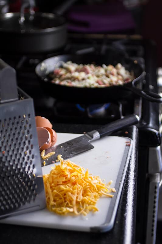 cheesy corned beef hash // chattavore