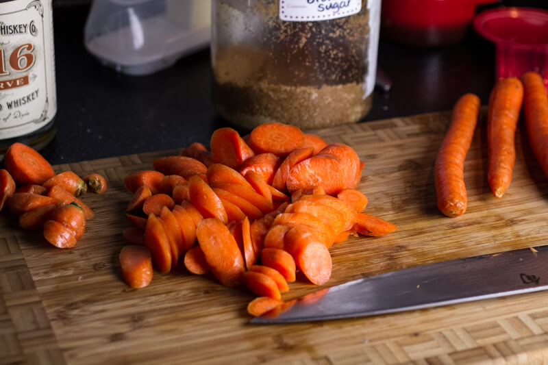 Whiskey Glazed Carrots - Chattavore
