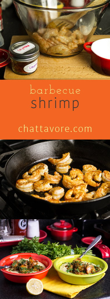 barbecue shrimp pin