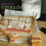 Cherry Limeade Bars (on Plating Pixels)
