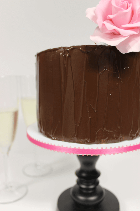 Vegan chocolate cake by Love Letter Cake Shop on Chattavore | chattavore.com