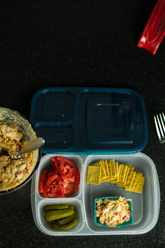 Pimento cheese + chicken salad = pimento cheese chicken salad. Boom. | chattavore.com