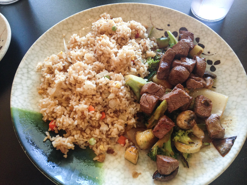 Soho Hibachi is a quick hibachi option in the Hixson, Tennessee area! #CHA #CHAeats | chattavore.com