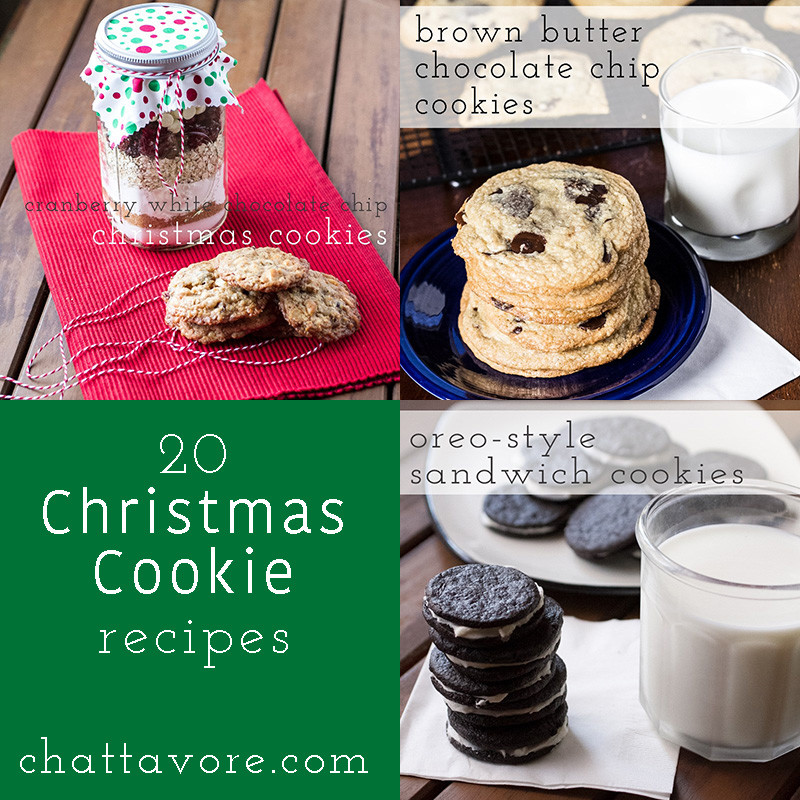 If you are looking for some great cookies to share this season, here are 20 recipes for Christmas cookies-you'll find something that everyone will love! | round-up from Chattavore.com