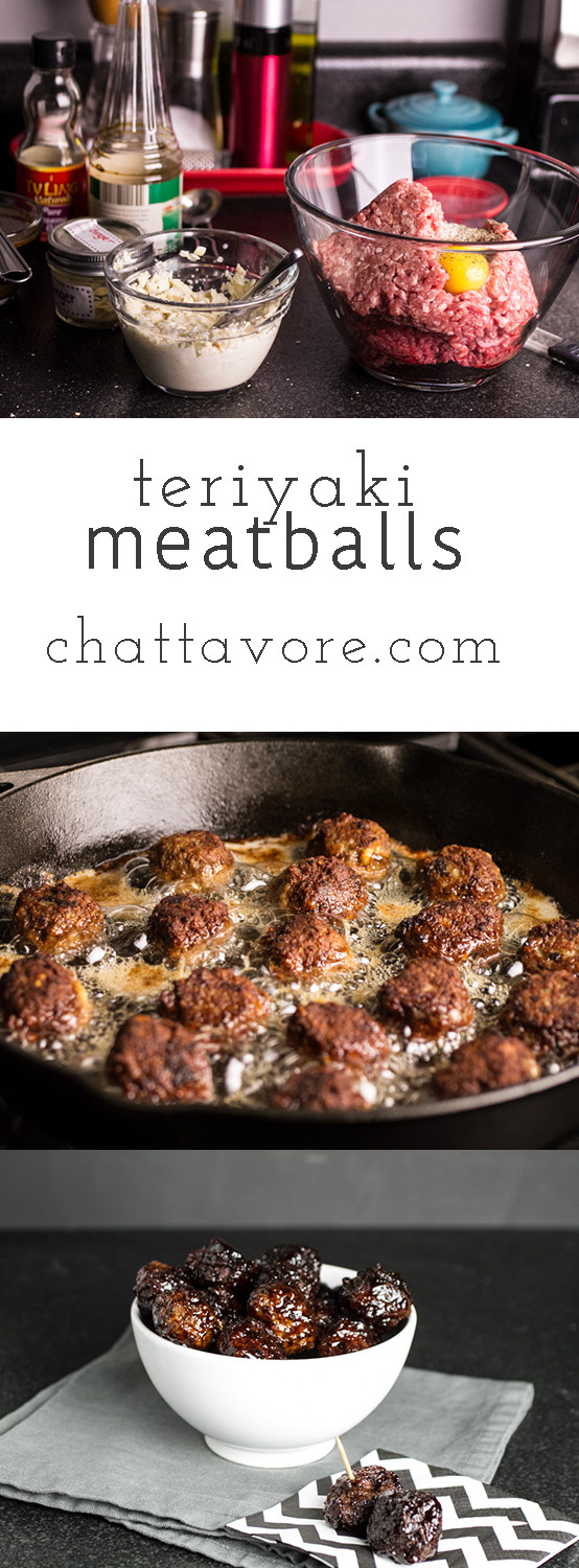 Teriyaki meatballs are everything you love about a meatball in a sweet and sticky sauce! | recipe from chattavore.com