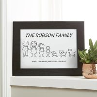 Personalized Family Wall Art - Photos Wall and Door ...