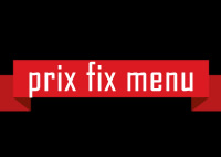 prix fix menu