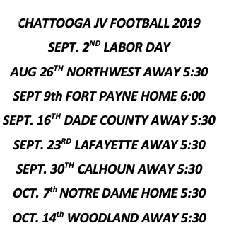 Chattooga High / Homepage