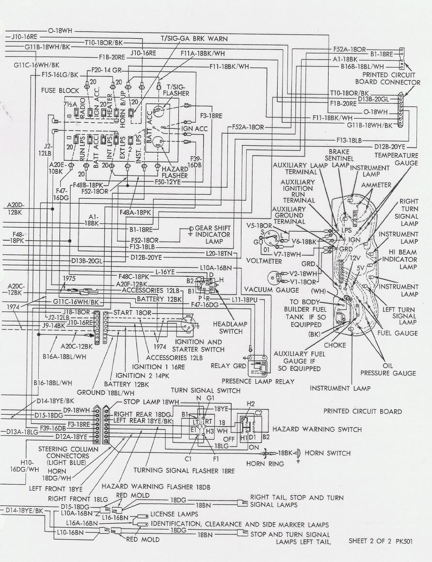 travco dodge wiring diagram