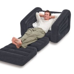 Intex Inflatable Pull Out Chair Twin Bed Antique Wooden Chairs Comment Trouver Une Chauffeuse Convertible Pas Cher