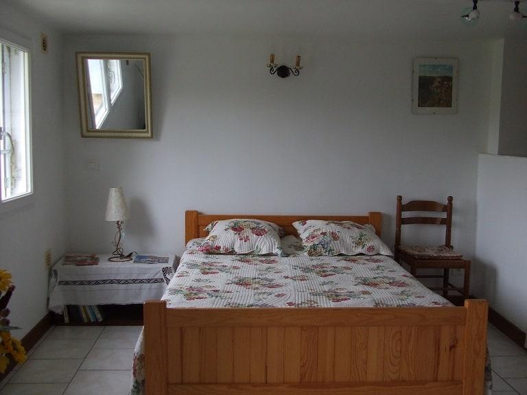Chambre bambouseraie
