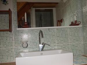 Salle de bain bambouseraie