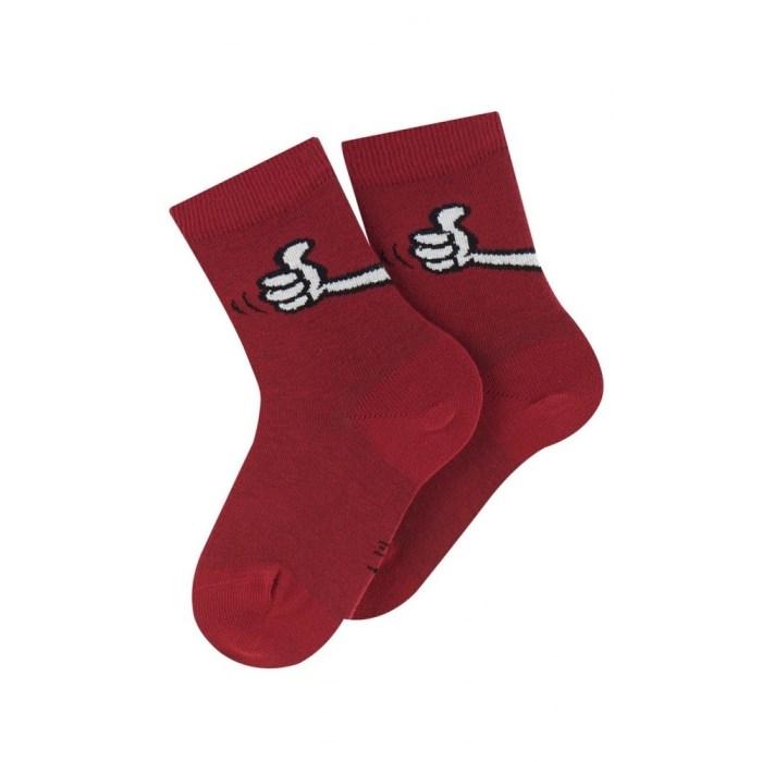 Mi-chaussettes modèle Top en coton