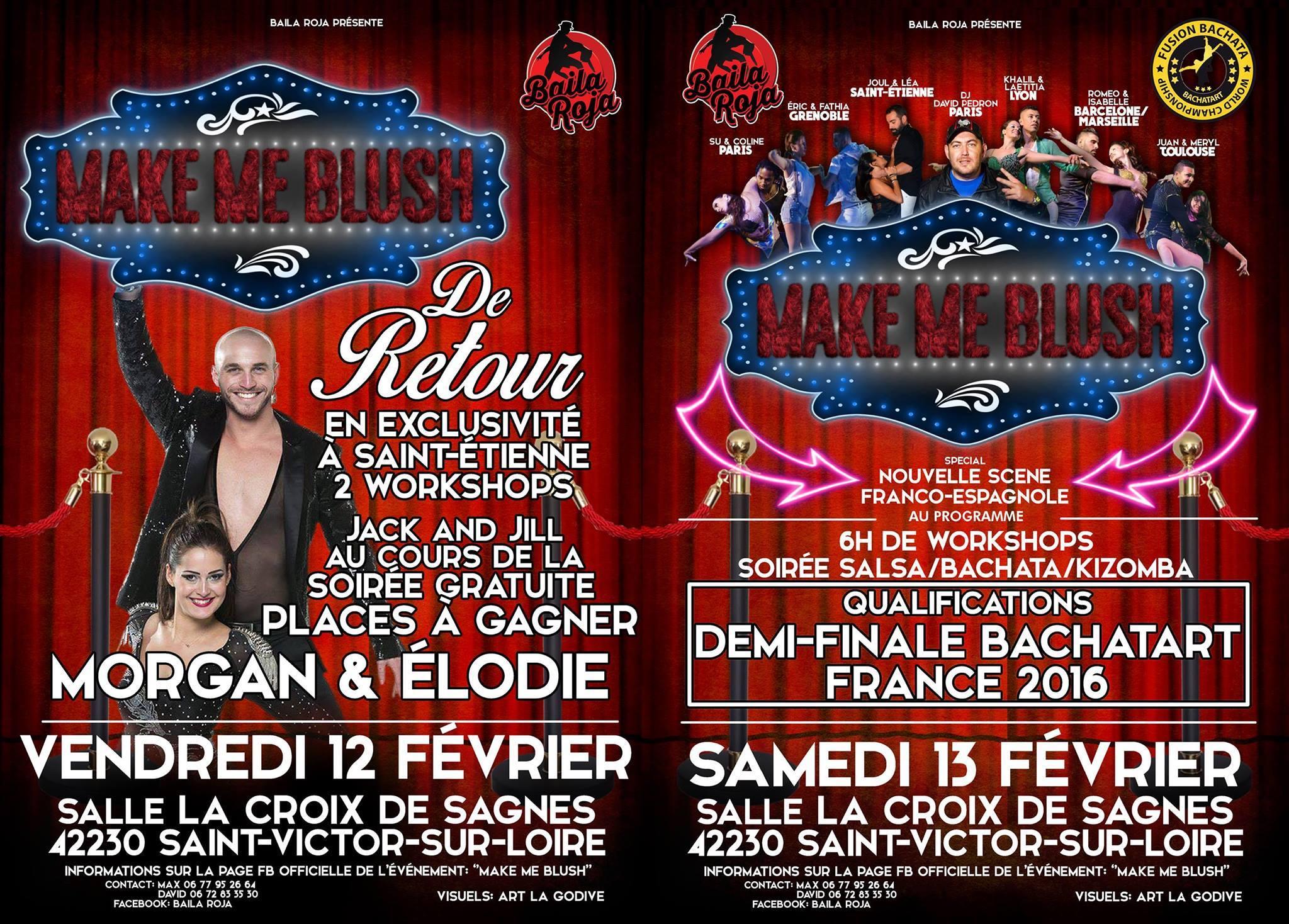 samedi 13 février à19h salle La Croix de Sagnes, 42230 Saint Victor sur Loire «Condamine» Quartier Annexe de Saint-Étienne