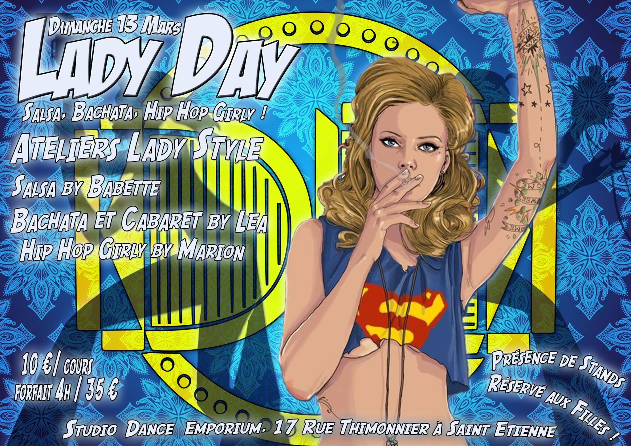 Dimanche 13 mars Lady Day à St Etienne