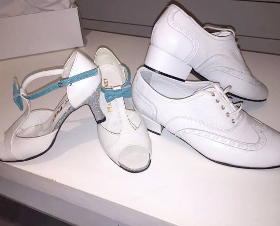 Mariage en blanc et turquoise pour Roxane