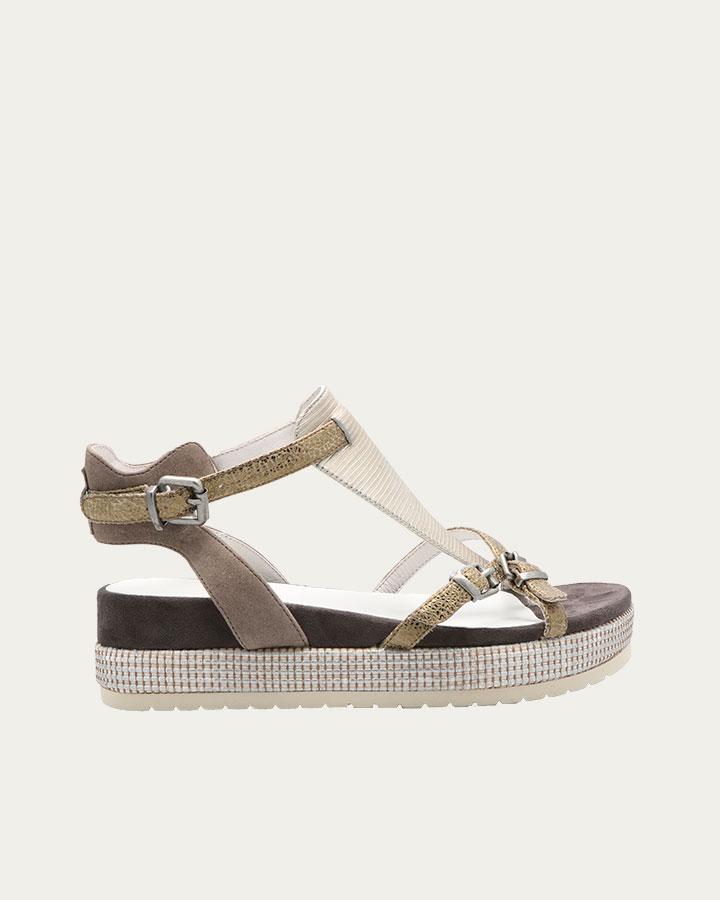 Sandale Caen kaki