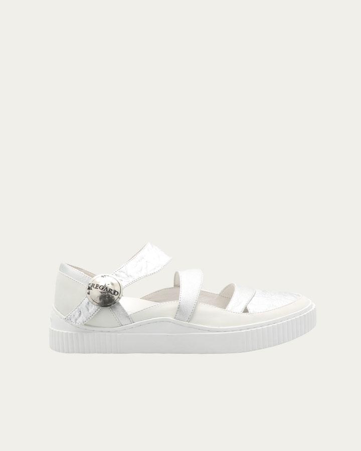 Chaussure ballerine Ivory blanche