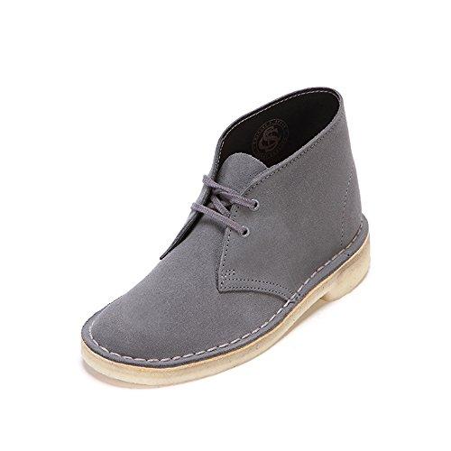 Clarks Desert Boots Homme, Bleu (Blue/Grey), 40 EU